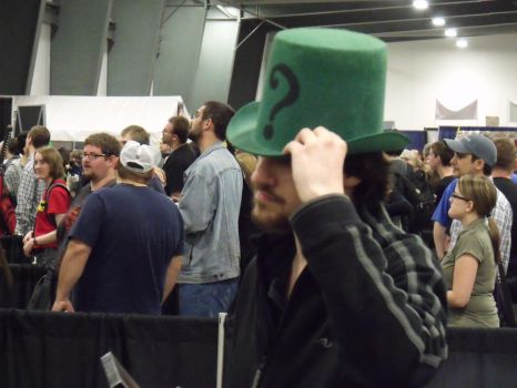 Me as Riddler at Comic Con by unownace