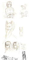 Holiday Sketchdump 2/2 by Domisea