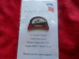 SS United States Pin by Kipfox32