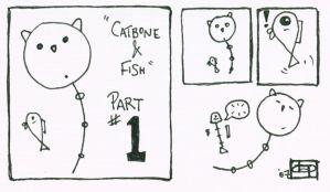 Catbone and Fish : Part 1 by danevilparker