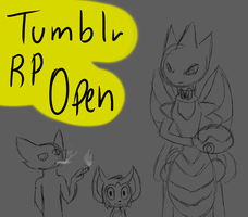 PMDe Tumblr rp open by Kryshoul