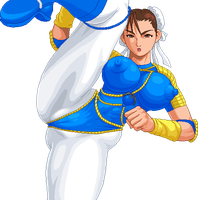 GI-JOEs Chun Li by Real-Warner