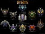 World Of Warcraft Job Crests by 1j9e8p7