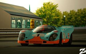 Porsche 917 at Montjuic 2 by ZowLe