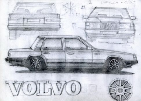 volvo 740-760 by Tombstone138