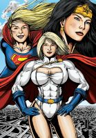 Power Girls by leandro-sf