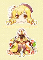 Tomoe Mami by Rosuuri