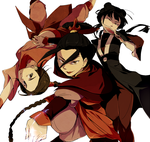 Ozai's Angels by knknknk