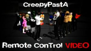 [MMD] Creepypastas DANCE - Remote Control VIDEO by Laxianne