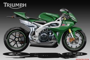 TRIUMPH NEXT DAYTONA by obiboi