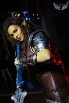 Warcraft - Garona cosplay from Epic Con by ver1sa