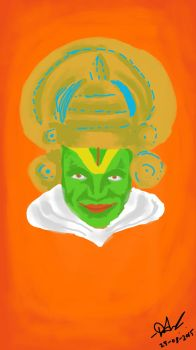 Kathakali for Onam by ASDevaraju
