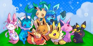 PKMN-Eeveelution by Mikoto-chan