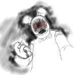 FNAF Bonnie recovers his face back by limegreenleaf