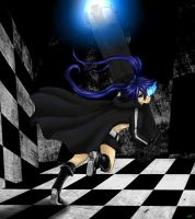 Black Rock Shooter by XxMaz-AlmightyxX