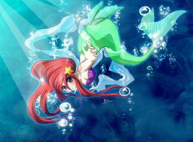 +The Little Mermaid+ by raidenokreuz76