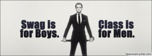 Barney Stinson - Facebook Cover by rockIT-RH