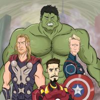 Avengers - Age of Ultron by Guinicius