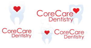 CoreCare Dentistry Logo by sampdesigns