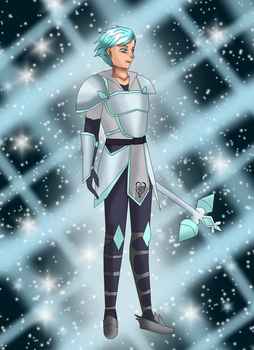 AT: The Diamond Knight by SolarMiko