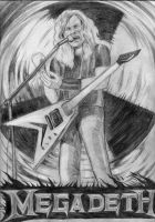 Dave mustaine by Mahiqun
