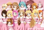 .: SNSD : Anime Girls Generation :. by Sincity2100
