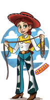 Toy story: Jessie by AninhaT-T