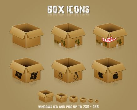 Box Icons by miffo