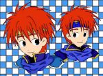 Fire Emblem: Eliwood and Roy by Pendragon89