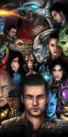 MASS EFFECT Fighting Indoctrination by thegameworld