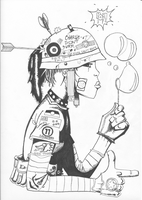 Tank Girl by MayonnaiseAndMalaise