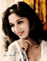 Madhuri Dixit- Goddess by laublack