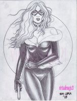 BLACK CAT by BOY  LARA by rodelsm21
