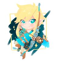 Link - Breath of the wild by Shirocreate