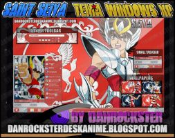 Pegasus Seiya Theme Windows XP by Danrockster