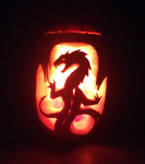 Pumpkin 2014 by AngelicDragonPuppy