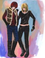 Death note mello and matt by RikaMello