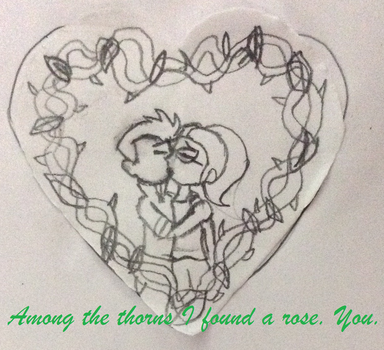 PoN: Valentine's Day Cards: Chris x Tania by YarasWorld