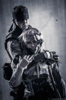 Snake and Raiden by ProVoltageCosplay