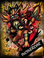 Incineroar by sudro