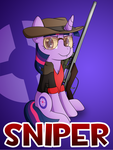 Pony Fortress 2: Sniper by 10art1