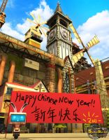 Happy chinese new year 2011 by 2000yearsoldman