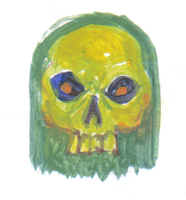 skull by ozwalled