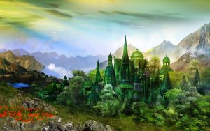 Emerald City by InertiaK