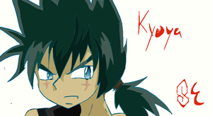 Watch How I draw Kyoya! by Squirrelfang2