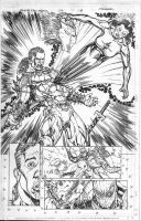 Black Panther 38 pg 18 pencil by Kevin-Sharpe