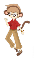 Smart Monkey Guy by DJSakura-Chan16