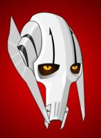 General Grievous Head Shot by TheOnlyBezo