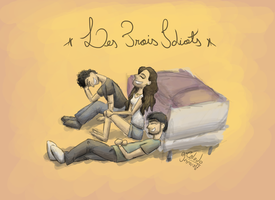 Les Trois Idiots - The Three Idiots by eJcalado
