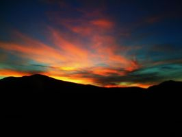 sunset in the inland empire by saxartist05